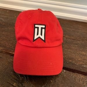 Tiger Woods golf hat